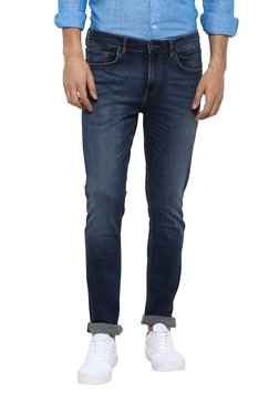 Red Tape Navy Skinny Fit Jeans
