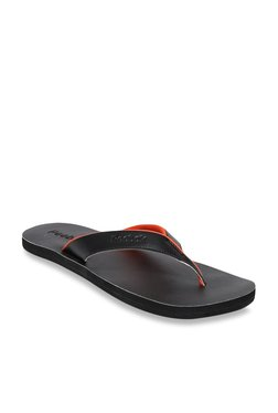 239e8bca8f5 Reebok Advent Black Flip Flops