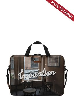 Daily Objects You Are The Inspiration Brown M Messenger Bag