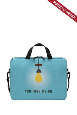 Daily Objects You Turn Me On Blue S Laptop Messenger Bag