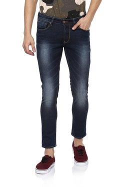 Spykar Dark Blue Low Rise Super Skinny Fit Jeans