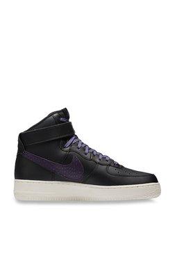 3b544dae45d Nike Air Force 1 High Black   Purple Ankle High Sneakers