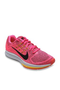 promo code f4aa4 c60b1 Nike Air Zoom Structure 18 Pink   Black Running Shoes