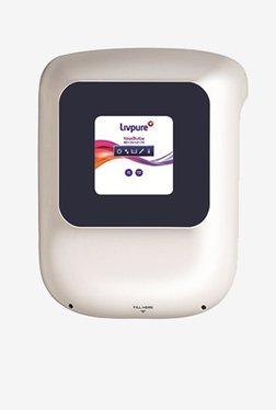 Livpure Touch Vibe RO + UV + UF + Taste Enhancer 8.5 L Water Purifier (White/Blue)