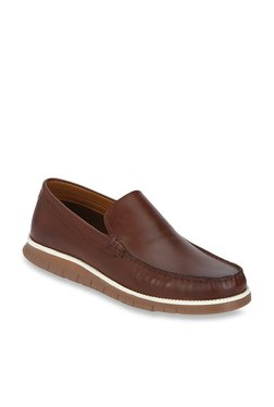 00c7d1fd80d9 Red Tape Teak Brown Casual Loafers