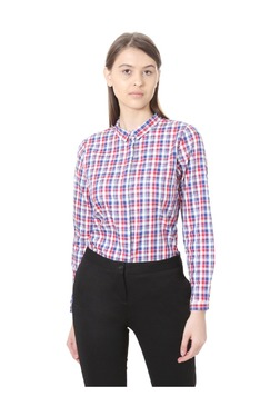 Solly By Allen Solly Multicolor Checks Cotton Shirt