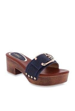 CERIZ Larissa Navy Casual Sandals