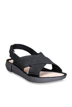 713cb49e13a2 Clarks Black Back Strap Sandals
