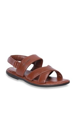 Red Chief Dark Tan Back Strap Sandals