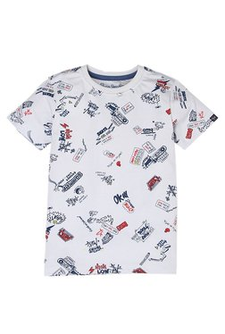 ff41aabf474 Pepe Jeans Kids White Printed T-Shirt