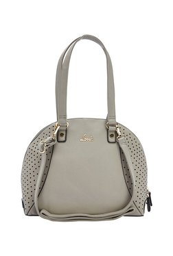 Lavie Bat Light Grey Cut Work Shoulder Bag