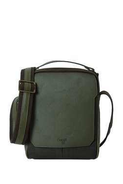 Baggit G Grump Y G Parina Military Green Solid Sling Bag