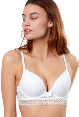 3c92a26f89f17 ETAM Paris White Under Wired Padded Seamless Bra