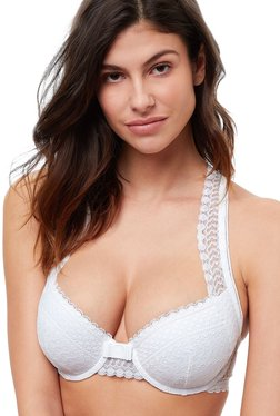 ffa1e2eb152 ETAM Paris White Under Wired Padded Push Up Bra