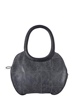Baggit L Bobby Y G Dingdong Grey Stitched Shoulder Bag
