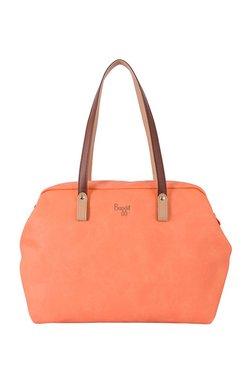 Baggit Lx4 Enter Y G Muffin Peach Solid Shoulder Bag