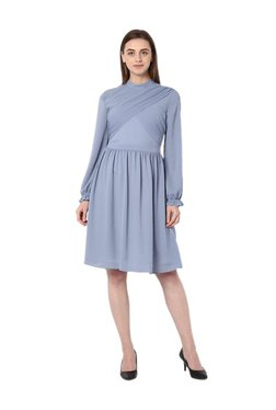 Van Heusen Blue Knee Length Dress