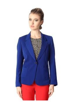 Van Heusen Blue Full Sleeves Blazer - Mp000000003233662