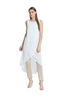 AND White Regular Fit Tunic