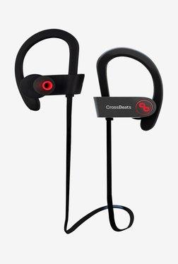 Crossbeats Raga In the Ear Bluetooth Headphones (Black)