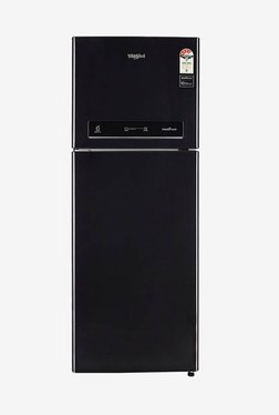Whirlpool IF INV 355 ELT 340 L Inverter 4 Star Frost Free Double Door Refrigerator (Caviar Black)