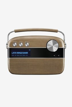Saregama Carvaan R20005 Portable Music Player (Walnut Brown)