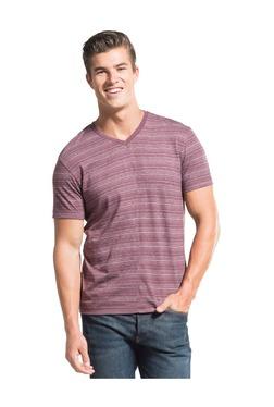 20597febf96e0 Jockey Purple Regular Fit T-Shirt -AM50