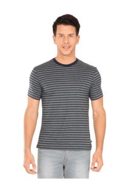 98d8a137f9ca1 Jockey Grey   Navy Regular Fit T-Shirt -2715
