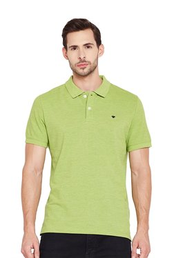 Tom Tailor Green Short Sleeves Cotton T-Shirt