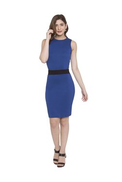 Globus Blue Knee Length Dress