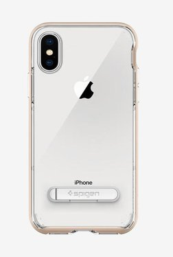 Spigen Crystal Hybrid Case For IPhone X (2017) (Champagne Gold)