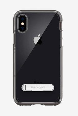 Spigen Crystal Hybrid Case For IPhone X (2017) (Gunmetal)