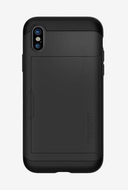 Spigen Slim Armor CS Case For IPhone X (2017) (Black)