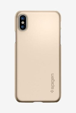 Spigen Thin Fit Case For IPhone X (2017) (Champagne Gold)