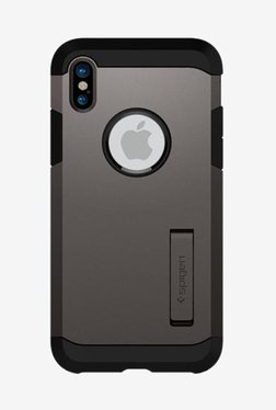 Spigen Tough Armor Case For IPhone X (2017) (Gunmetal)