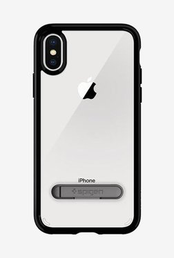 Spigen Ultra Hybrid Case For IPhone X (2017) (Jet Black)