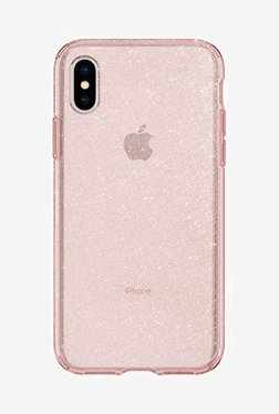 Spigen Liquid Crystal Case For IPhone X (2017) (Rose Quartz)