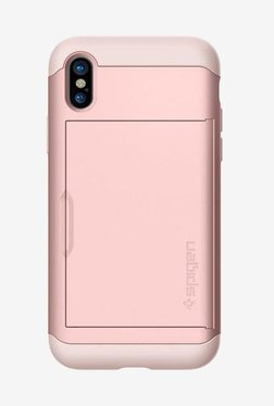 Spigen Slim Armor CS Case For IPhone X (2017) (Rose Gold)