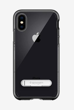 Spigen Crystal Hybrid Case For IPhone X (2017) (Black)