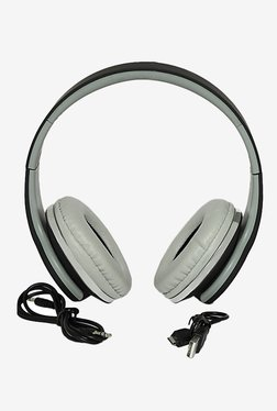 Thrumm Thunder Over The Ear Headphone with Mic (Black)