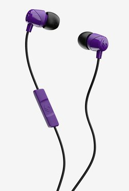 Skullcandy Jib S2DUYK-629 Wired In Ear Headphone with Built-in Mic (Purple)
