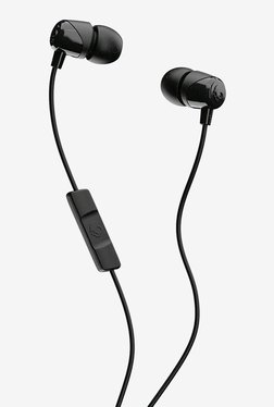 Skullcandy Jib S2DUYK-343 Wired In Ear Headphone with Built-in Mic (Black)