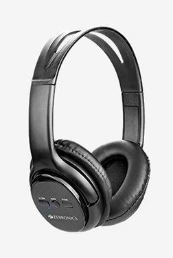 Zebronics Aura Over The Ear Bluetooth Headphone With Mic (Black)