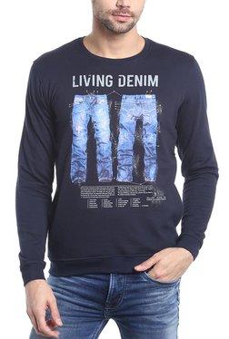 Killer Navy Slim Fit Sweatshirt