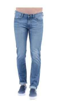 Pepe Jeans Blue Lightly Washed Regular Fit Jeans