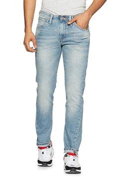 Levi's Light Blue Slim Fit Low Rise Jeans