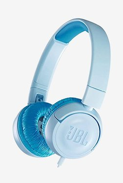 JBL JR300 Kids On The Ear Headphones (Ice Blue)