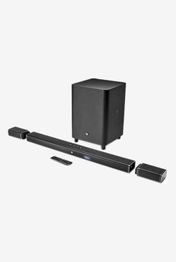 JBL Bar 5.1 Channels 4K Ultra HD Soundbar with True Wireless Surround Speakers (Black)