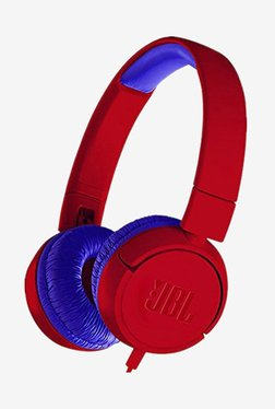 JBL JR300 Kids On The Ear Headphones (Spider Red)