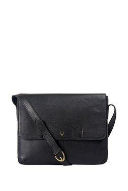 Hidesign Ee Salvodor 01 Black Solid Leather Messenger Bag 1a1bfc46f